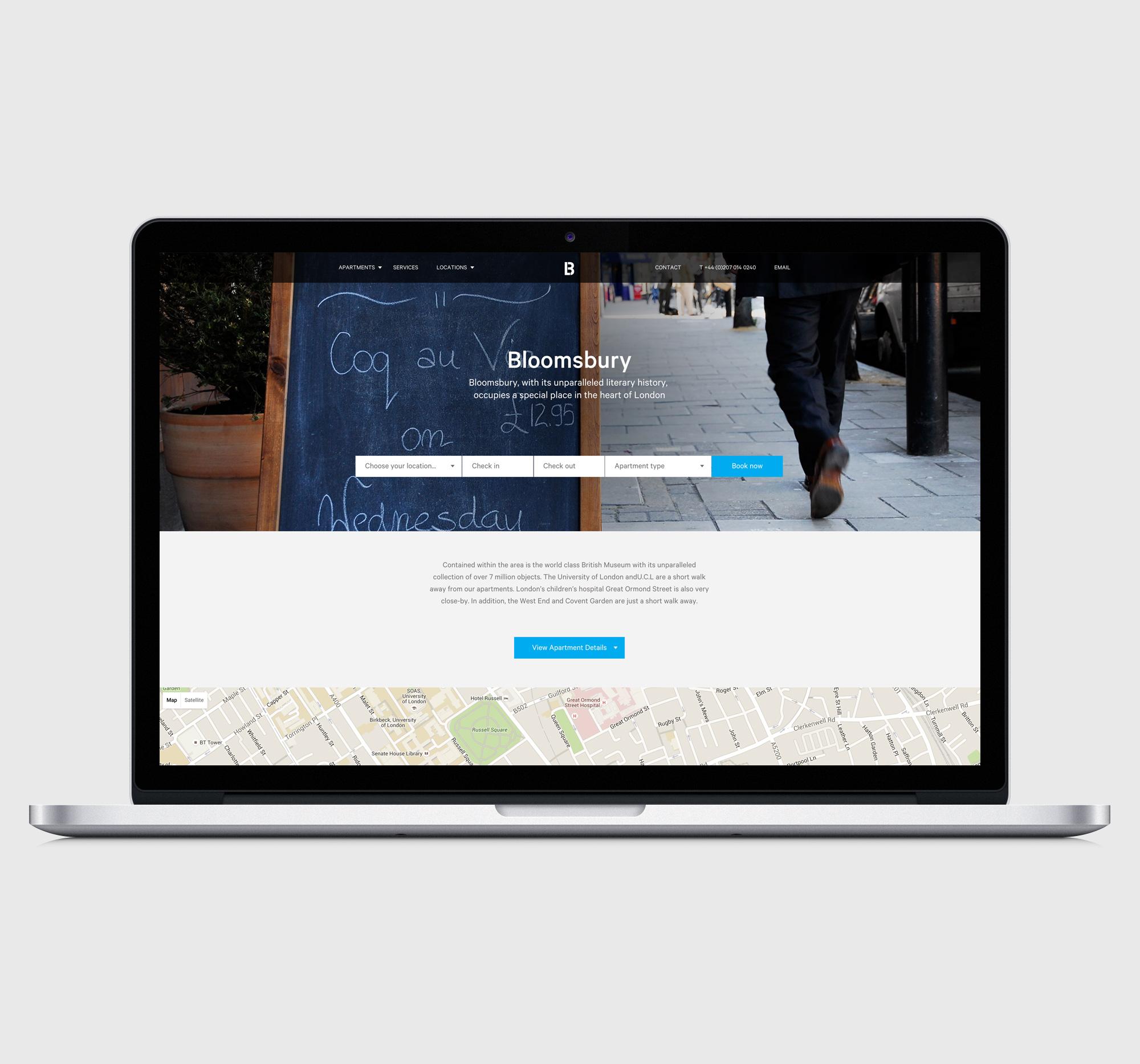 Blueprint Living Appartments 56 Degrees London Wordpress Developers